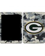 Green Bay Packers Camo Apple iPad Air Skin