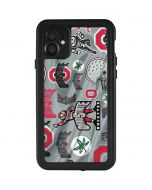 Ohio State Pattern iPhone 11 Waterproof Case