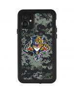 Florida Panthers Camo iPhone 11 Waterproof Case