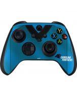 Carolina Panthers Team Jersey Xbox Series X Controller Skin