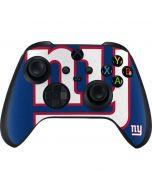 New York Giants Large Logo Xbox Series X Controller Skin