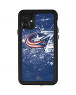 Columbus Blue Jackets Frozen iPhone 11 Waterproof Case