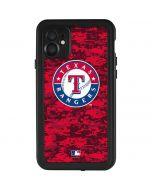 Texas Rangers Digi Camo iPhone 11 Waterproof Case