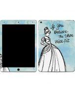 Cinderella Shoe Will Fit Apple iPad Air Skin