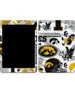 Iowa Hawkeyes Pattern Apple iPad Air Skin