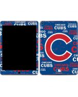 Chicago Cubs -Cap Logo Blast Apple iPad Air Skin