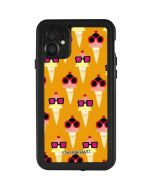 Ice Cream with Shades iPhone 11 Waterproof Case