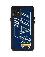 Utah Jazz Large Logo iPhone 11 Waterproof Case