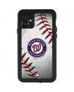 Washington Nationals Game Ball iPhone 11 Waterproof Case