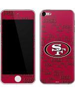 San Francisco 49ers Blast Apple iPod Skin