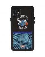 Charlotte Hornets Retro Palms iPhone 11 Waterproof Case