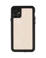 Modern Shapes iPhone 11 Waterproof Case