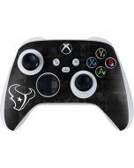 Houston Texans Black & White Xbox Series S Controller Skin