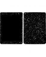 Black Speckle Apple iPad Air Skin