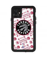 Toronto Raptors Logo Blast iPhone 11 Waterproof Case