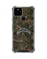 Los Angeles Chargers Realtree Xtra Green Camo Google Pixel 5 Clear Case