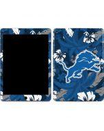 Detroit Lions Tropical Print Apple iPad Air Skin
