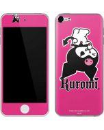 Kuromi Bold Print Apple iPod Skin