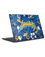 Los Angeles Chargers Tropical Print HP Envy Skin