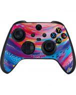 Rainbow Wave Brush Stroke Xbox Series X Controller Skin