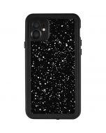 Black Speckle iPhone 11 Waterproof Case
