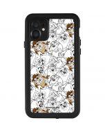 Tasmanian Devil Super Sized Pattern iPhone 11 Waterproof Case