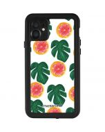 Tropical Leaves and Citrus iPhone 11 Waterproof Case