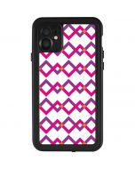 Chevron White Out iPhone 11 Waterproof Case