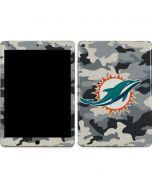 Miami Dolphins Camo Apple iPad Air Skin