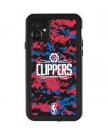 LA Clippers Digi Camo iPhone 11 Waterproof Case