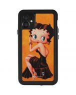 Betty Boop Little Black Dress iPhone 11 Waterproof Case