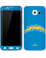 Los Angeles Chargers Large Logo Galaxy S6 Edge Skin