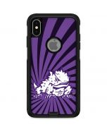 TCU Horned Frogs Mascot Swirl Otterbox Commuter iPhone Skin