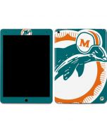 Miami Dolphins Retro Logo Apple iPad Air Skin