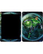 Green Lantern in Space Apple iPad Air Skin