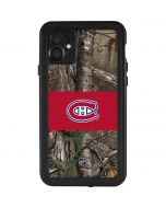 Montreal Canadiens Realtree Xtra Camo iPhone 11 Waterproof Case