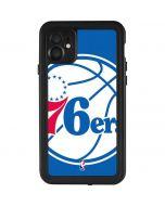 Philadelphia 76ers Large Logo iPhone 11 Waterproof Case
