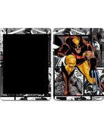 Wolverine Comic Strip Apple iPad Air Skin