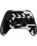 Black and White Geometric Shapes Xbox Series X Controller Skin