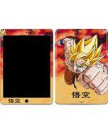 Goku Power Punch Apple iPad Air Skin