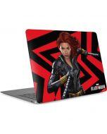 Black Widow Geometric Apple MacBook Air Skin