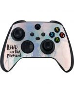 Live In The Moment Pastel Xbox Series X Controller Skin