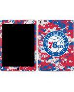 Philadelphia 76ers Red Digi Camo Apple iPad Air Skin