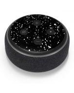 Black Speckle Amazon Echo Dot Skin