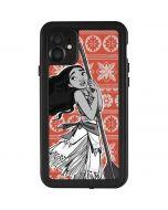 Moana Tropical Print iPhone 11 Waterproof Case