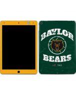 Baylor Faded Basketball Apple iPad Air Skin