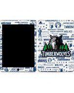 Minnesota Timberwolves Historic Blast Apple iPad Air Skin