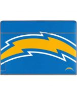 Los Angeles Chargers Large Logo Galaxy Book Keyboard Folio 12in Skin