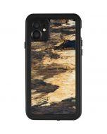 Blue Resin Wood iPhone 11 Waterproof Case