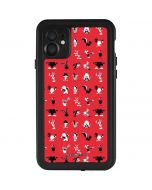 Looney Tunes Identity Red Pattern iPhone 11 Waterproof Case